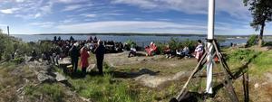 Gökotta på Köpmanberget är en mångårig tradition i Hudiksvall. Läsarbild: Maj Anita Persson.