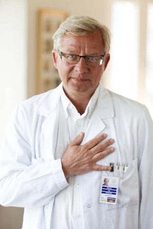 Jan Nilsson, professor och ordförande för Hjärt-Lungfondens forskningsråd. Foto: Hjärt- och lungfonden