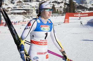 På VM i Seefeld blev Settlin 13:e bäst i världen i skiathlonen. Bild: Terje Pedersen/NTB Scanpix/TT