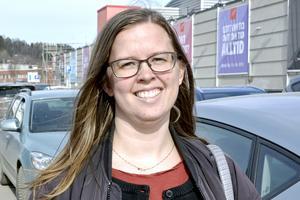 Åsa Andersson, 36 år, student, Nacksta: