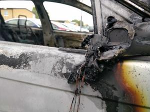 Bilbränder på Dragverksgatan