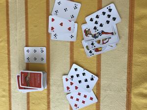 Kortspel som avkoppling