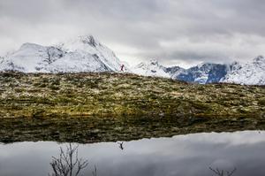 Emelie Forsberg fann sin passion för bergslöpning när hon arbetade i fjällen efter gymnasiet.Foto: Kilian Jornet