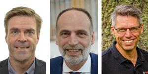 Hans Eklind (KD), Behcet Barsom (KD) och Magnus Lagergren.