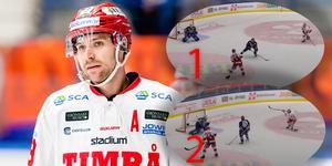 Ludvig Rensfeldt suckar efter chansen som kom att spela stor betydelse för matchens utgång. Bild: Jonas Ljungdahl (Bildbyrån).