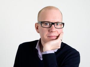 Skribenten Marcus Bohlin.