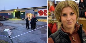 Emma Bylin, butikschef på Naturkompaniet.