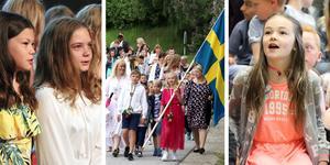 Under torsdagsförmiddagen satte skolorna i Ånge, Fränsta och Ljungaverk punkt för läsåret.