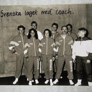 Bild tagen från Colorado Springs med landslaget 1991. Foto: Privat