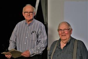 Föreläsarna Kjell och Erik Olsson. Fotograf: Margareta Heed