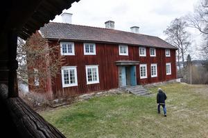 Kroksgårds bostadshus är från 1738. Bilden tagen från loftet, som ligger på samma fastighet.