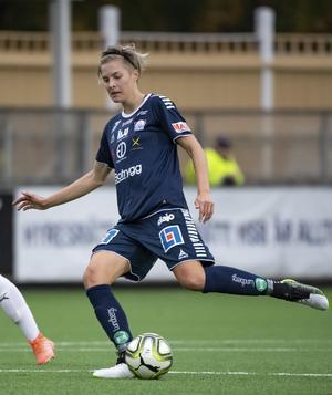Lina Hurtig har vunnit SM-guld och VM-brons.  I sommar jagar hon sannolikt medalj i OS med det svenska damlandslaget. Foto: Johan Nilsson/TT