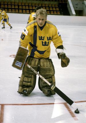 Peter Åslin gjorde 91 A-landskamper och var bofast i det svenska landslaget under många år under 1980- och 1990-talet. Foto: TT