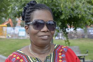 Sithabile Sebele, 57, statsanställd, Sundsvall: