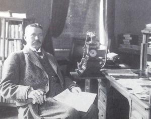 Olof Alström - a self-made man och framstående tidningsman. Bild: ST arkiv