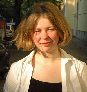 Saga Wallander kommer använda stipendiesumman på 50 000 kronor åt att på heltid skriva klart sin första roman.