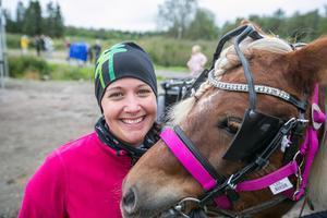 Jennifer Hansson och hennes Palle kommer att återkomma så att fler unga och gamla får prova på att vara travkusk.