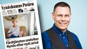 Färdtjänstnämndens ordförande, Fredrik Wallén (KD)