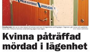 Fagersta-Posten 18 januari 2006