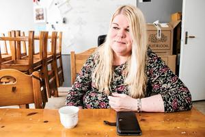 Linda Karlsson, föreningen Hitta hem i Kumla.