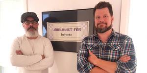 """""""Kravet på inskränkningar i Las är att det ska bli lättare att göra sig av med anställda"""", skriver Tony Björk och Rikard Rudolfsson. Foto: Privat"""
