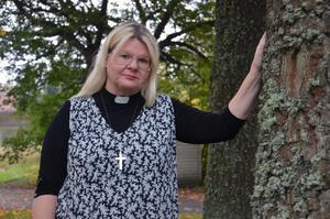 I somras tillträdde Mia-Marie Kjellgren som ny kyrkoherde i Enånger–Njutånger.