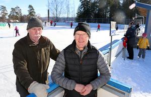 Hasse Karlsson och Göran Hammarstedt var med och ordnade Kraftsamling Fränstas familjedag och var mer än nöjda med resultatet.