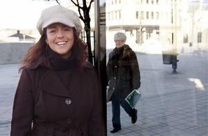 Lina Dahlbom arbetar för längre öppettider och mer samarbete mellan Härnösands butiker. Handeln i Härnösand har redan samlats under det gemensamma varumärket -Handelsplats Härnösand-.