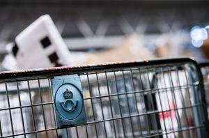 En man är misstänkt för att ha stulit varor för 59 000 kronor av Postnord.Foto: Marcus Ericsson / TT