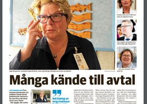 Inger Bergströms avtal med den tidigare personaldirektören kostade landstinget 3,6 miljoner kronor, och väckte stor debatt.