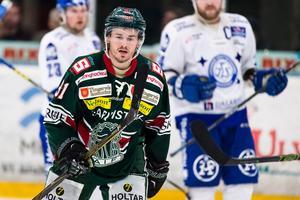 Joakim Högberg, här i Tingsrydströjan. Nu spelandes för Piteå.