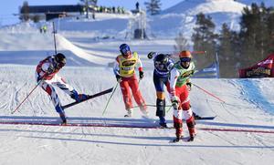 Victor Öhling-Norberg tog sig till final med en perfekt målgång som tvåa.