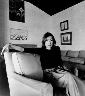 Joan Didion började sin karriär 1961 på tidskriften Vouge.