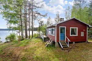 Fritidshus med havsutsikt intresserar många. Detta var veckans mest klickade fastighet i Kramfors kommun på hemnet - 5 390 besökare. Foto Svensk fastighetsförmedling