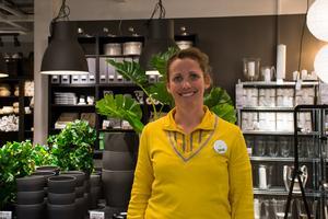 Liv Bengtsson, varuhuschef på Ikea i Sundsvall.