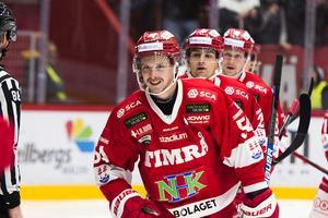 Jonathan Dahlén visade vägen och gjorde 1–0 mot BIK Karlskoga.