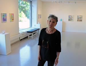 Georgianna Kralli har arbetat med den nya utställningen under ett och ett halvt års tid.