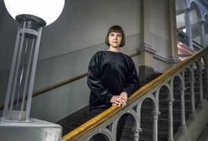 Författaren Sara Bergmark Elfgren som är aktuell med sin nya bok