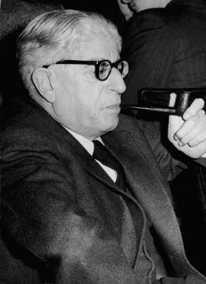 Ernst Bloch 1956. Foto: Zentralbild/Krueger