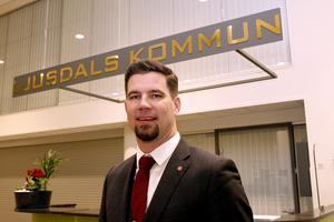 Markus Evensson, socialdemokratiskt kommunalråd i Ljusdals kommun.