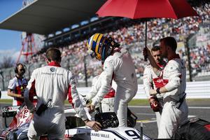 Marcus Ericssons. Foto: Sauber Motorsport