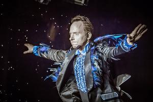Håkan Berg uppträder runt om i världen. Foto: Press/Olov Holten