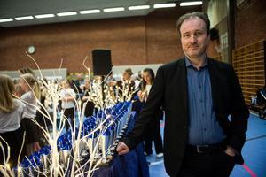 Leif Sundin, ordförande i dansföreningen Rockringen och tävlingsorganisatör, var nöjd efter dagens slut.