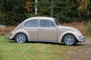 Denna  Volkswagen 1300 från 1967 har Börje Johansson renoverat.