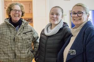 Karin Bernström, Emilia Magnusson och Anna Magnusson tyckte att museet var fascinerande.