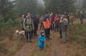 Det var 26 deltagare som gick kyrkstigen första advent. Bild: Privat
