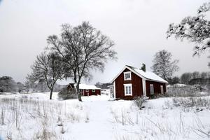 De gamla husen på Vidinge är numera sommarbostäder. Foto: Anders Sjöberg