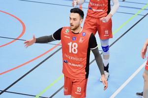 Dardan Lushtaku spelade sin sista match när Habo Wolley föll mot Falkenberg. Nästa säsong blir Lushtaku Habotränare.