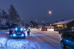 Olyckan inträffade på Krondikesvägen.