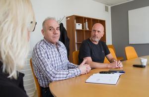 Mwafak Amis är en av dem som har fått hjälp via arbetsmarknadsenheten på Resurscentrum i Söderhamn att rusta sig för den svenska arbetsmarknaden.